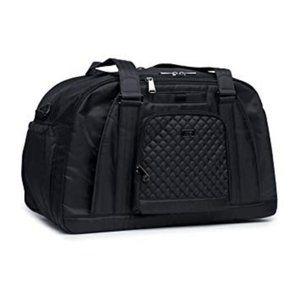Lug Propeller Gym / Overnight Bag - Midnight Black